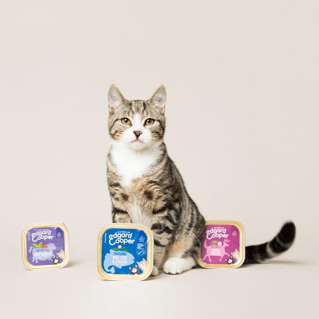 Edgar & Cooper - comida para gatos