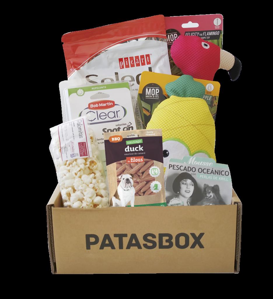 Caja de septiembre Patasbox - Tropical Dream