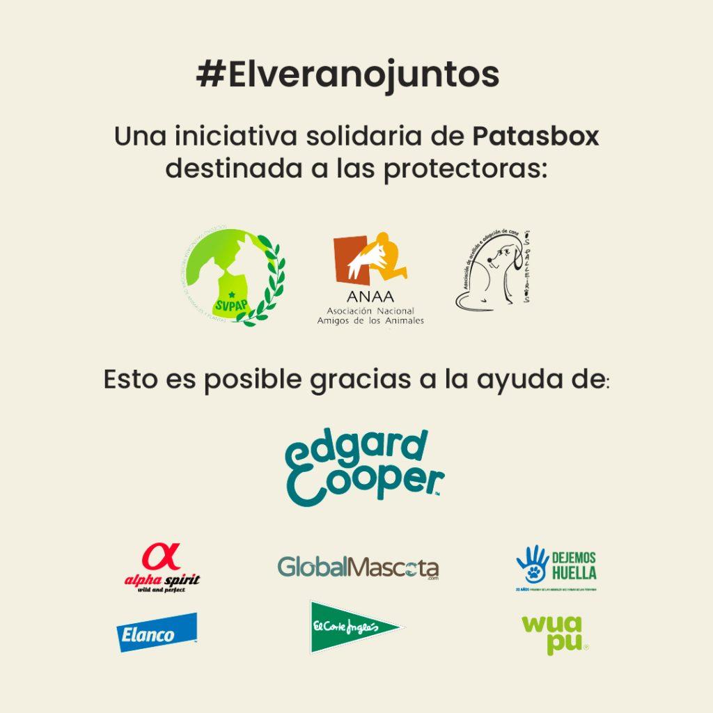 #elveranojuntos acción solidaria contra el abandono animal